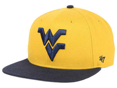West Virginia Mountaineers '47 NCAA Sure Shot Snapback Cap