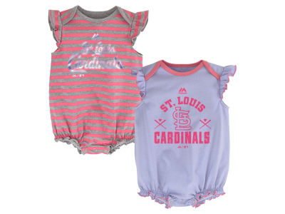 St. Louis Cardinals MLB Newborn Team Sparkle 2pc Creeper