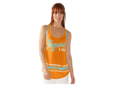 LSU Tigers G-III Sports NCAA Women's Wild Card Rio Tank Top
