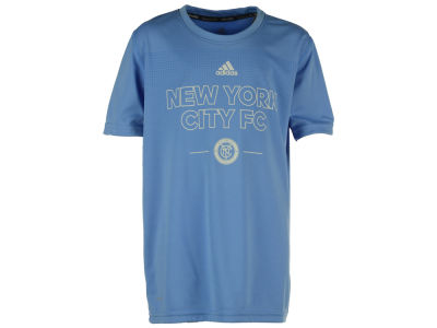 New York City FC adidas MLS Youth Club Authentic T-Shirt