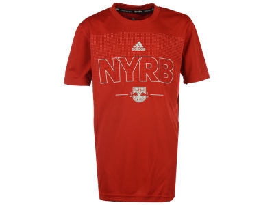 New York Red Bulls adidas MLS Youth Club Authentic T-Shirt