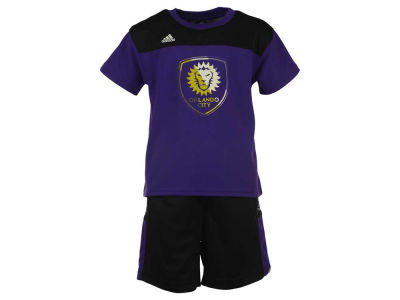 Orlando City SC adidas MLS Youth Ultimate T-Shirt and Short Set