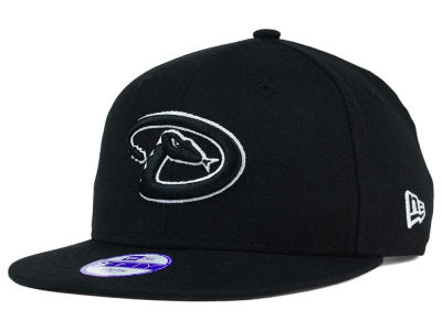 Arizona Diamondbacks New Era MLB Youth Black White 9FIFTY Snapback Cap