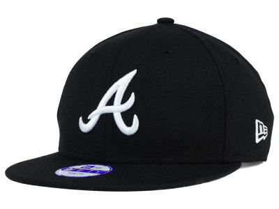 Atlanta Braves New Era MLB Youth B-Dub 9FIFTY Snapback Cap
