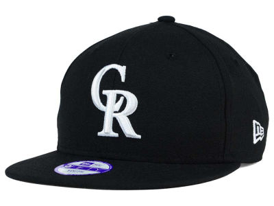 Colorado Rockies New Era MLB Youth B-Dub 9FIFTY Snapback Cap
