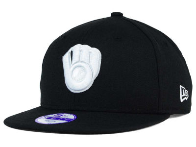 Milwaukee Brewers New Era MLB Youth B-Dub 9FIFTY Snapback Cap