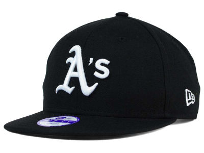Oakland Athletics New Era MLB Youth B-Dub 9FIFTY Snapback Cap