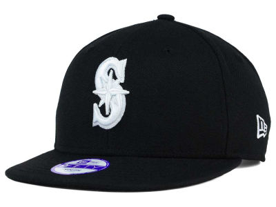 Seattle Mariners New Era MLB Youth B-Dub 9FIFTY Snapback Cap