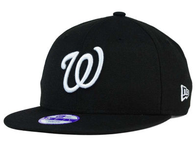 Washington Nationals New Era MLB Youth B-Dub 9FIFTY Snapback Cap