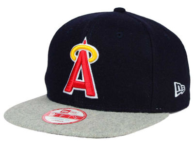 Los Angeles Angels New Era MLB Team Melton 9FIFTY Snapback Cap