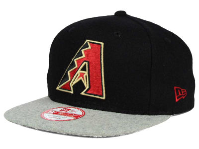 Arizona Diamondbacks New Era MLB Team Melton 9FIFTY Snapback Cap