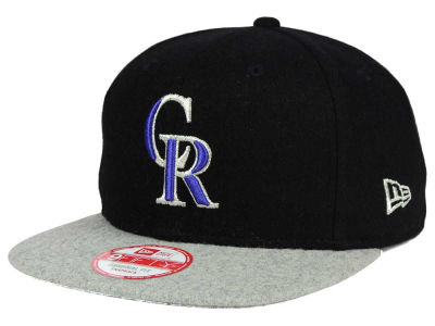 Colorado Rockies New Era MLB Team Melton 9FIFTY Snapback Cap