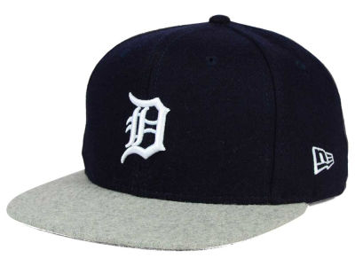 Detroit Tigers New Era MLB Team Melton 9FIFTY Snapback Cap