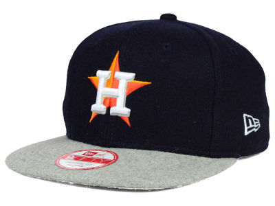 Houston Astros New Era MLB Team Melton 9FIFTY Snapback Cap