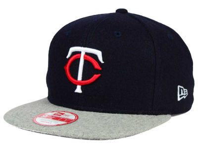 Minnesota Twins New Era MLB Team Melton 9FIFTY Snapback Cap