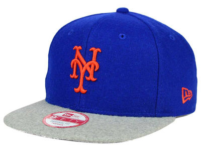 New York Mets New Era MLB Team Melton 9FIFTY Snapback Cap