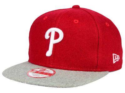 Philadelphia Phillies New Era MLB Team Melton 9FIFTY Snapback Cap