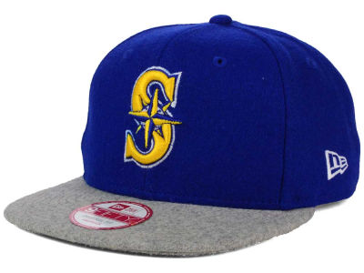 Seattle Mariners New Era MLB Team Melton 9FIFTY Snapback Cap