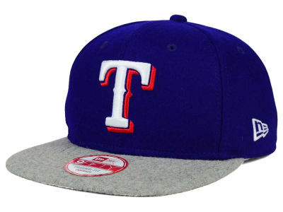 Texas Rangers New Era MLB Team Melton 9FIFTY Snapback Cap
