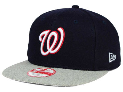 Washington Nationals New Era MLB Team Melton 9FIFTY Snapback Cap