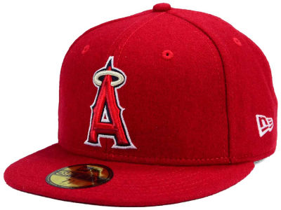 Los Angeles Angels New Era MLB Past Time 59FIFTY Cap