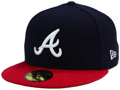 Atlanta Braves New Era MLB Past Time 59FIFTY Cap
