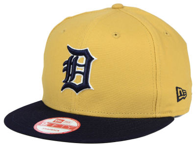 Detroit Tigers New Era MLB Classic Canvas 9FIFTY Snapback Cap