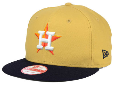 Houston Astros New Era MLB Classic Canvas 9FIFTY Snapback Cap