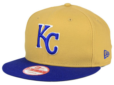 Kansas City Royals New Era MLB Classic Canvas 9FIFTY Snapback Cap