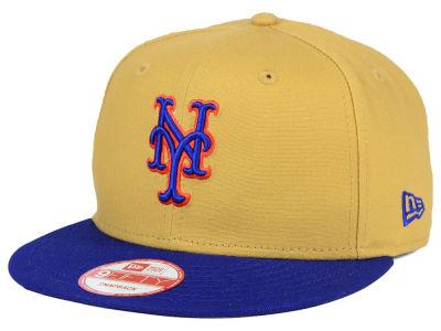 New York Mets New Era MLB Classic Canvas 9FIFTY Snapback Cap