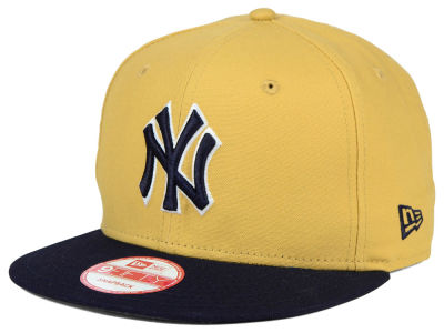 New York Yankees New Era MLB Classic Canvas 9FIFTY Snapback Cap