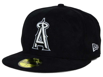 Los Angeles Angels New Era MLB Suede Out 59FIFTY Cap