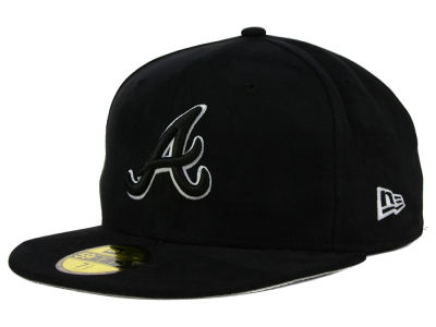Atlanta Braves New Era MLB Suede Out 59FIFTY Cap