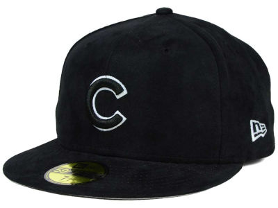 Chicago Cubs New Era MLB Suede Out 59FIFTY Cap