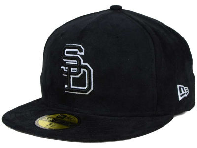 San Diego Padres New Era MLB Suede Out 59FIFTY Cap