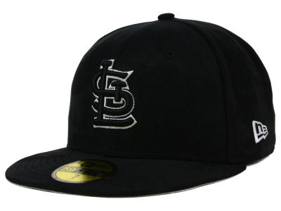 St. Louis Cardinals New Era MLB Suede Out 59FIFTY Cap
