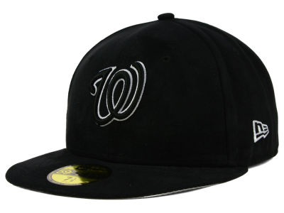 Washington Nationals New Era MLB Suede Out 59FIFTY Cap