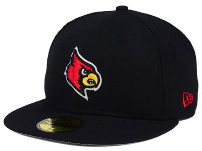 Louisville Cardinals New Era NCAA AC 59FIFTY Cap