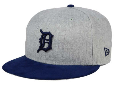 Detroit Tigers New Era MLB Heather On Suede 9FIFTY Snapback Cap