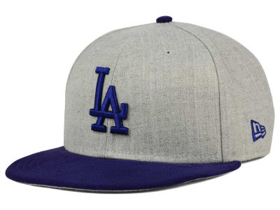 Los Angeles Dodgers New Era MLB Heather On Suede 9FIFTY Snapback Cap