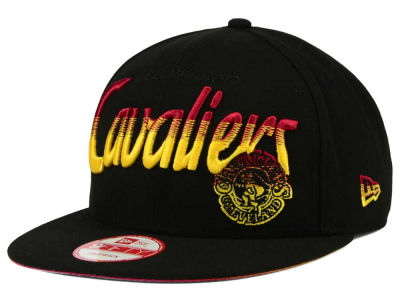 Cleveland Cavaliers New Era NBA HWC Fade to Script 9FIFTY Snapback Cap