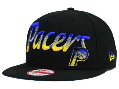 Indiana Pacers New Era NBA HWC Fade to Script 9FIFTY Snapback Cap