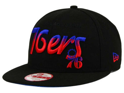 Philadelphia 76ers New Era NBA HWC Fade to Script 9FIFTY Snapback Cap