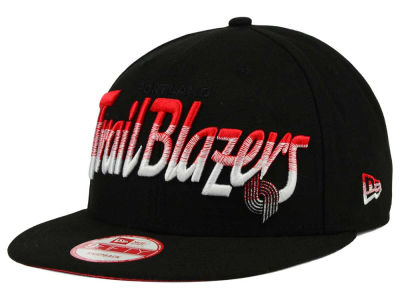 Portland Trail Blazers New Era NBA HWC Fade to Script 9FIFTY Snapback Cap