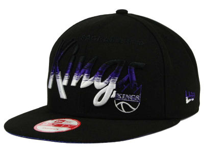 Sacramento Kings New Era NBA HWC Fade to Script 9FIFTY Snapback Cap