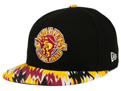 Cleveland Cavaliers New Era NBA HWC Team Zag 9FIFTY Snapback Cap