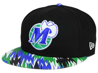 Dallas Mavericks New Era NBA HWC Team Zag 9FIFTY Snapback Cap