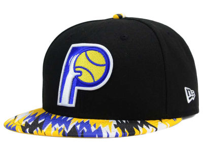 Indiana Pacers New Era NBA HWC Team Zag 9FIFTY Snapback Cap