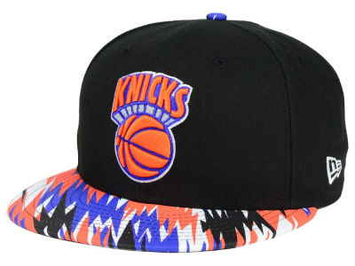 New York Knicks New Era NBA HWC Team Zag 9FIFTY Snapback Cap