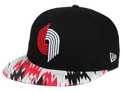 Portland Trail Blazers New Era NBA HWC Team Zag 9FIFTY Snapback Cap
